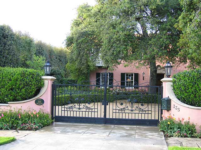 Garden Studio Landscape Design In Pasadena California By James J. Yoch